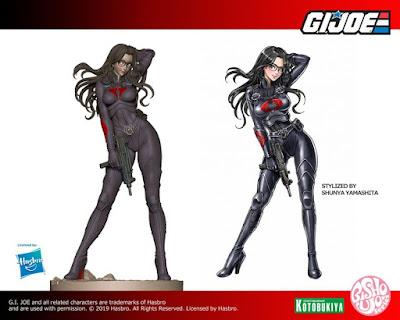 """Figura: Primera imágen de la Bishoujo Baronesa de """"G.I.Joe"""" - Kotobukiya"""