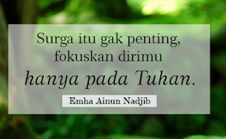 Kumpulan Kata Mutiara Dan Kata Bijak Emha Ainun Nadjib Atau Cak Nun