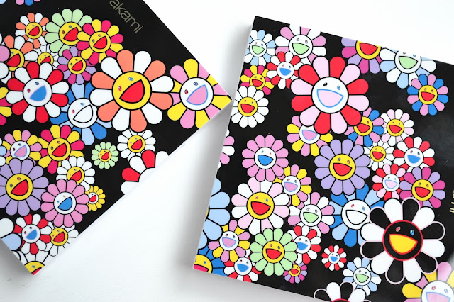 Shu Uemura Murakami Cosmic Blossom Eye and Cheek Palette in Cosmikawaii Review Swatches