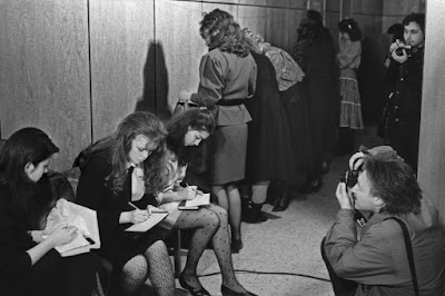 Fotografías del primer concurso de belleza de la Unión Soviética