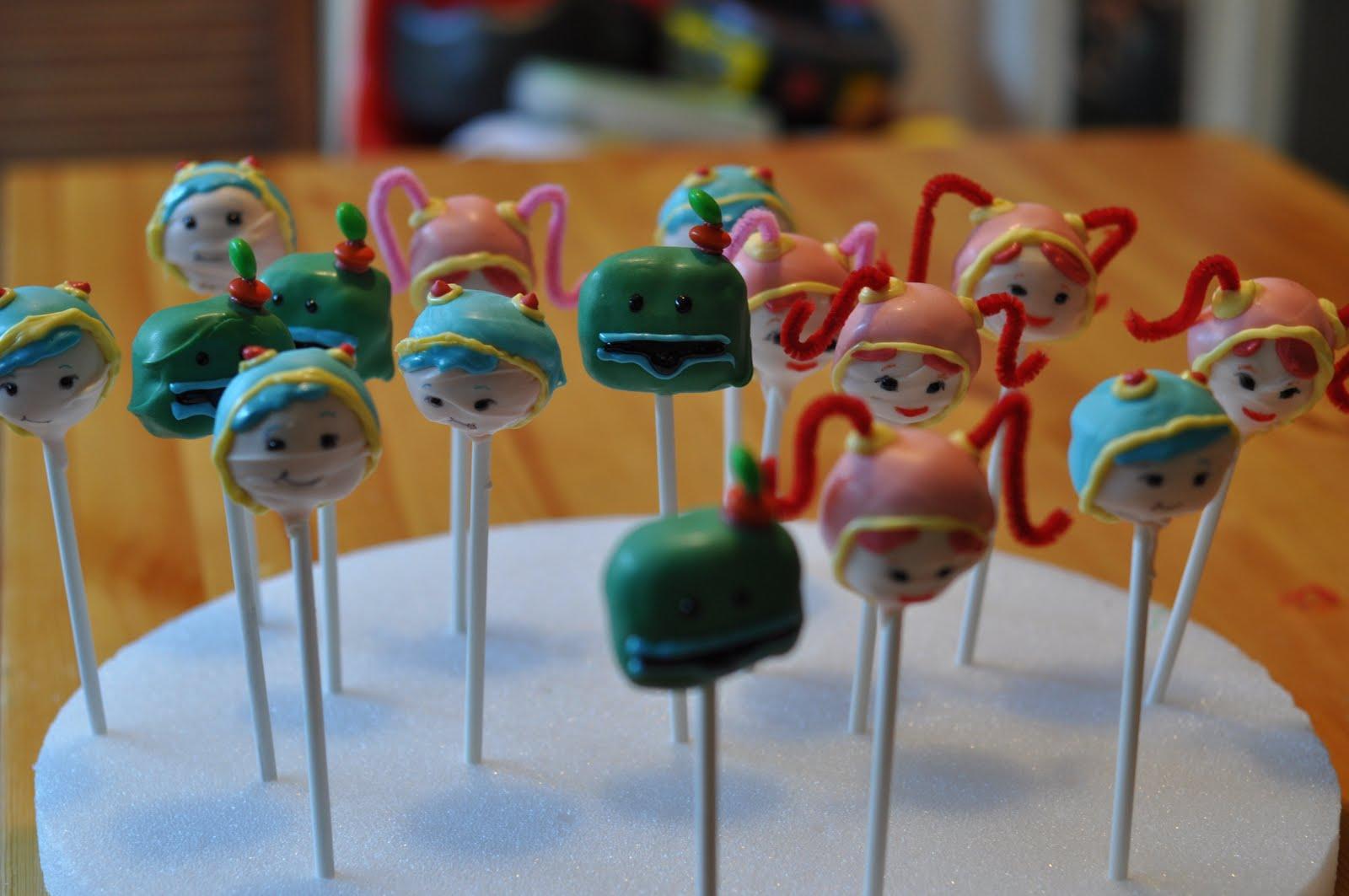 Umizoomi Cake Pops