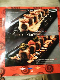 menu suntiang restaurant di Jakarta