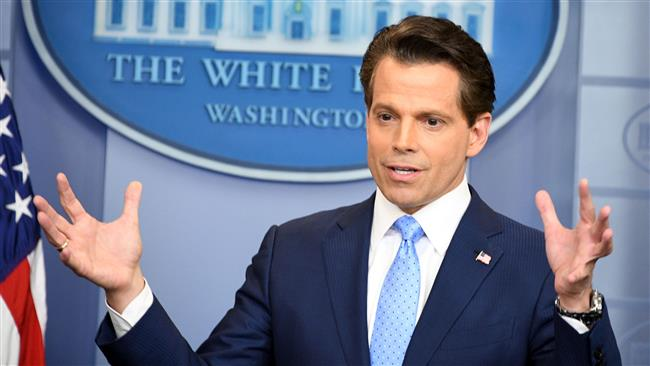 US President Donald Trump's communications director Anthony Scaramucci to 'fire everybody' to stop White House leaks