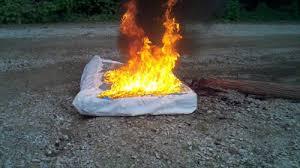Quemando el colchón