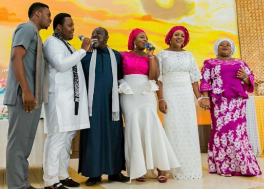 See photos from Rochas Okorocha's 55th birthday party