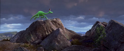 The Good Dinosaur Teaser Trailer Screenshot - Arlo and Spot