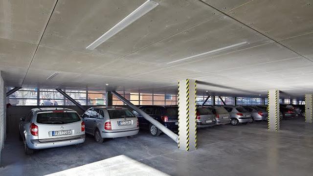 Standar dan aturan Ruang Parkir pada Gedung, Basement atau Bangunan Khusus Parkir.