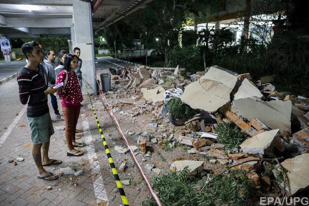 Кількість загиблих під час землетрусу в Індонезії перевищила 80