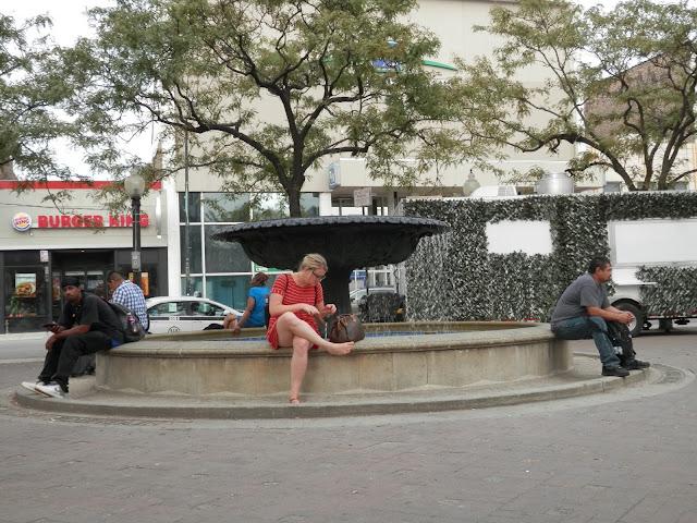 Nelson Algren Fountain à Chicago