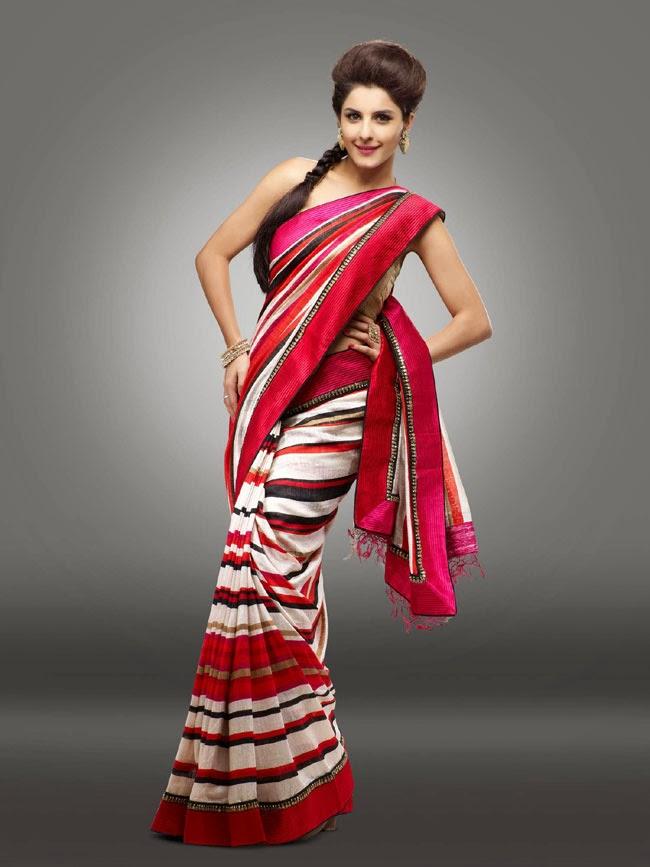 Nice Indian Girl Wallpaper Latest Saree Fashion Isha Talwar Gorgeous Photos In Saree