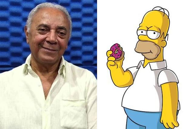 Waldyr Sant'anna, primeiro dublador de Homer Simpson e de Frank Bryce em 'Cálice de Fogo', morre aos 81 anos | Ordem da Fênix Brasileira
