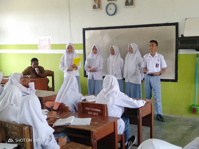 Sudah Diulai, Perekrutan Pengurus OSIS SMK Yasmida Ambarawa Tp. 2019/2020