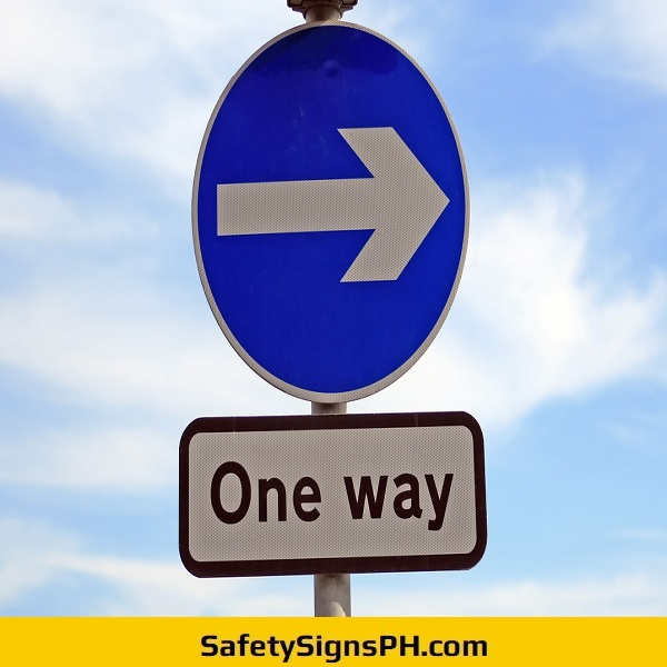 Road One Way Signage Philippines