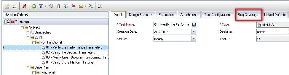 Increiblelavista: Requirement Coverage in Test Planning