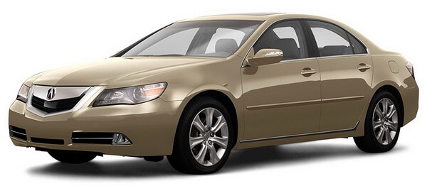 2009 Acura RL Prices, Reviews and Pictures