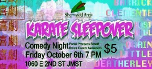 Sherwood Arts Complex Presents: Karate Sleepover