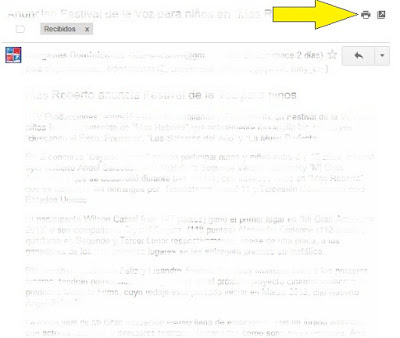 print a document in gmail
