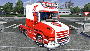 Arsenal skin for Scania T