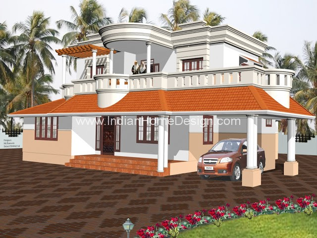 Beautiful Home Elevation Designs From Muhammed Shamim