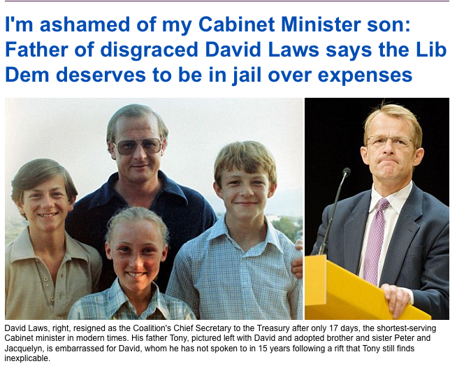 David Laws: Oh Father