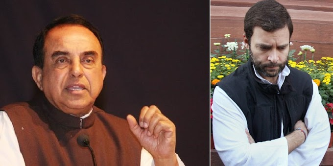 Swamy claimed Rahul Gandhi has a 4 passport's with the name of Raul Vinci