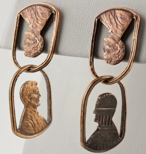 09-Earrings-Abe-Chained-Coin-Pennies-&-Dimes-Sculptures-&-Accessories-Jewellery-Stacey-Lee-Webber-www-designstack-co