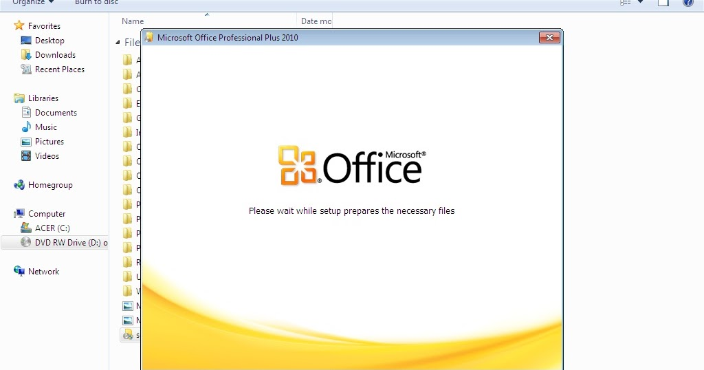 ms office 2007 update to 2010
