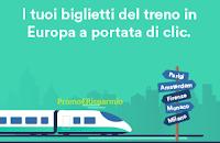 Logo Trainline: con Trenitalia Bimbi Gratis e con Italo Flex sconto del 50%