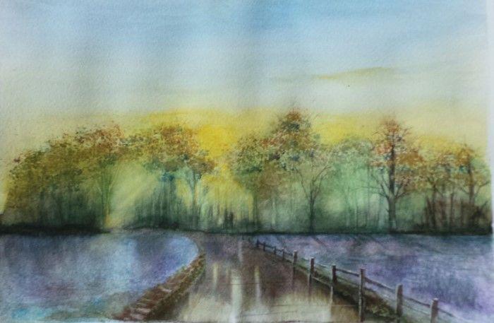 Британский художник. Jill Simpson
