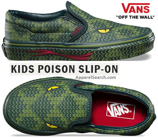 Reptile Slip-on Shoes