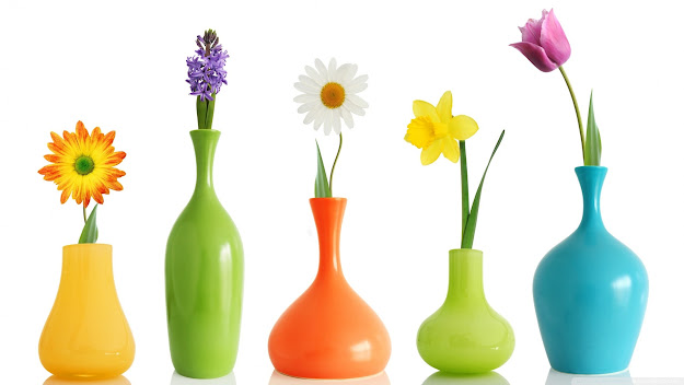 Colorful Flower Pots With Flower Pot Images  Trendy Interior Or Colorful  Pots