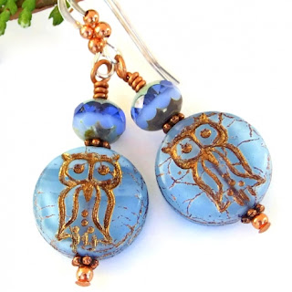 owl earrings gift idea for women