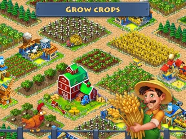 تحميل لعبة مزرعة Township مهكرة اخر اصدار للاندرويد