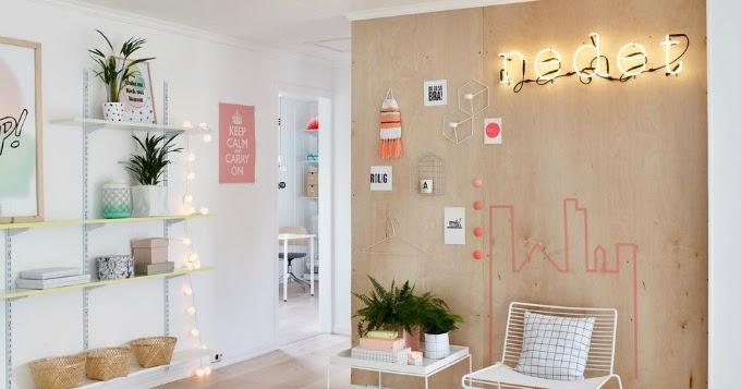 Decoraci n f cil colorida vivienda escandinava con for Decoracion viviendas