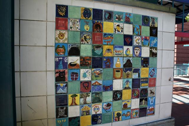 Chinatown Seattle mosaic