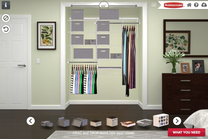 create a functional and gorgeous bedroom closet in just a few hours with this tutorial