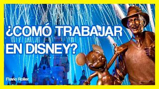 ¿Como trabajar en Disney?