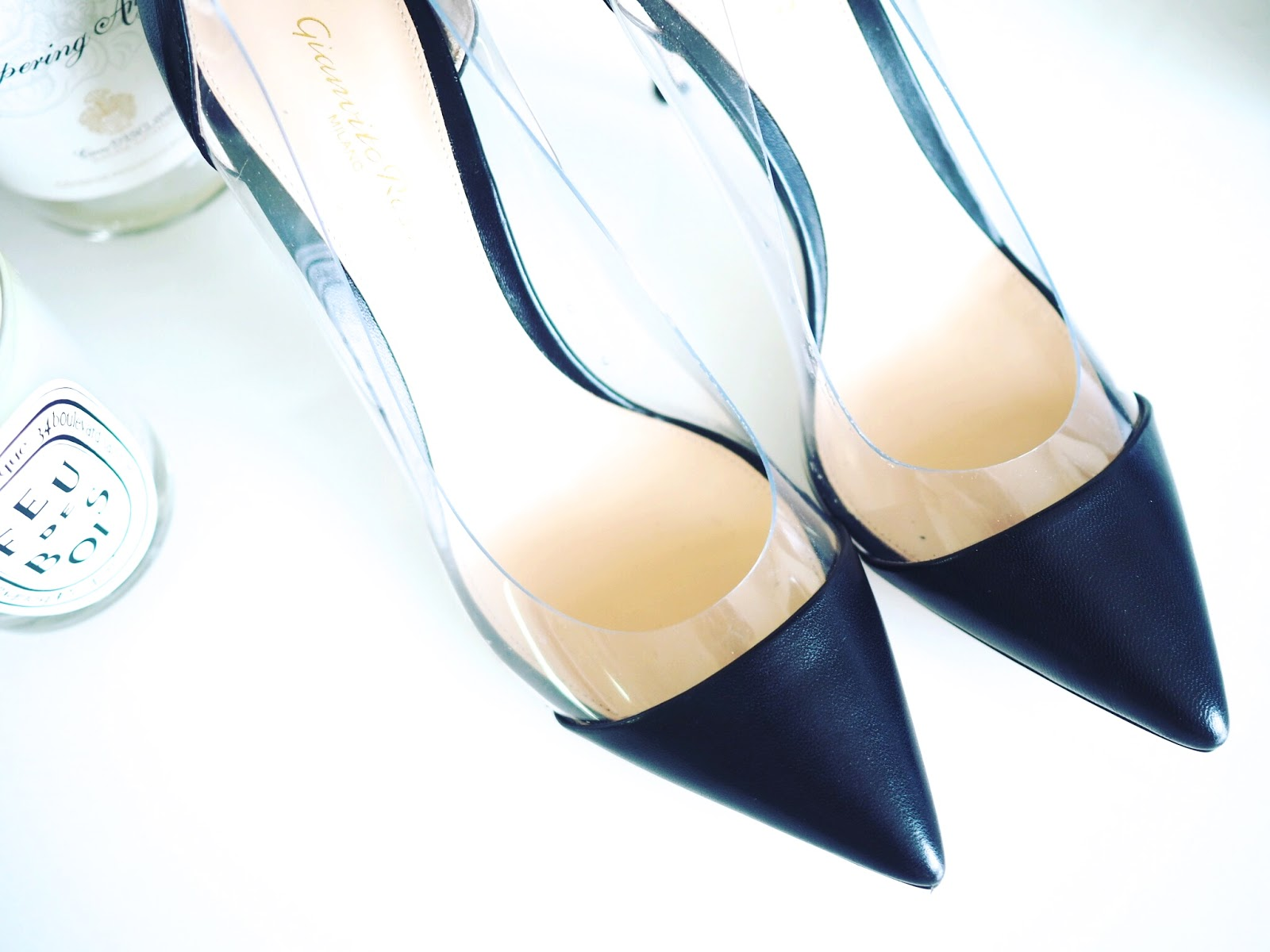 da9aea706b8d The Gianvito Rossi Plexi heel was a real impulse buy-one minute you re  talking to your assistant about them in the office