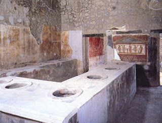 The first fast-food restaurant from the Roman Empire city of Pompeii called a Thermopolium