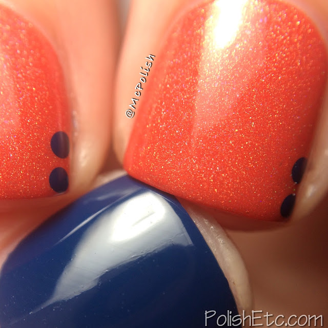 Cirque Colors Icon Duos for Nordstrom Pop-In Shop - McPolish - Tangerine Dream and Selvedge