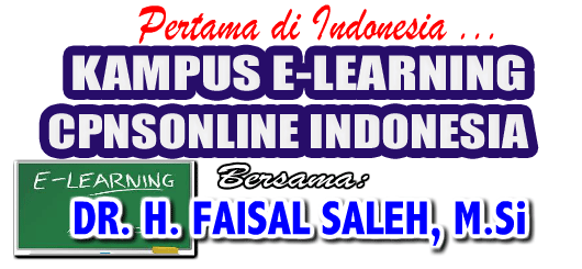 Kampus e-learning CPNS Online Indonesia