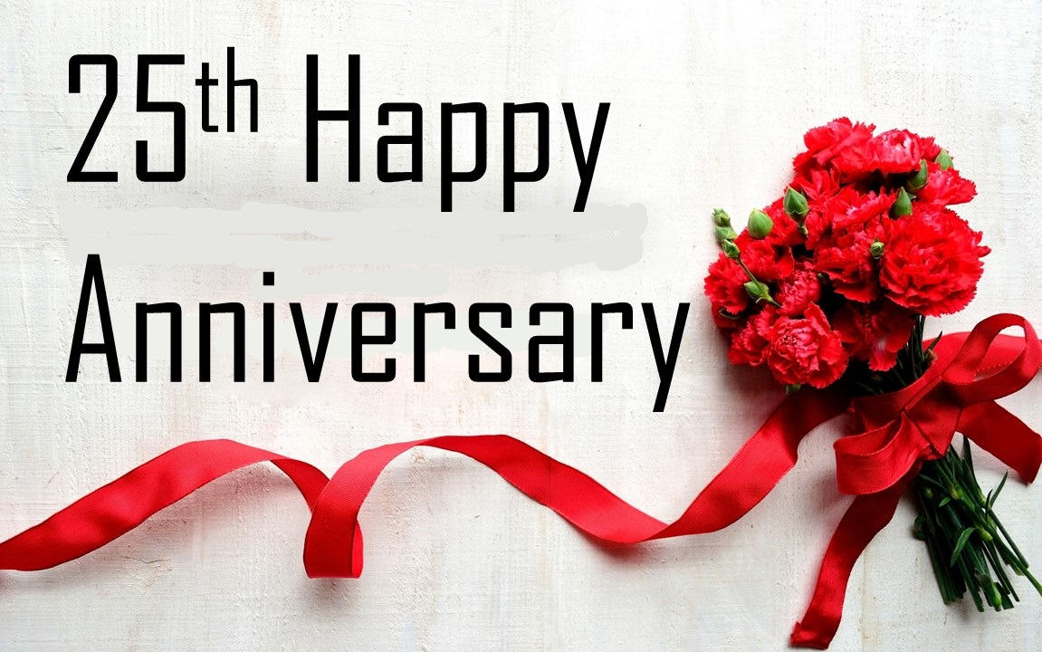 25th marriage anniversary wishes messages for friends family rytez 25th marriage anniversary wishes anniversary images m4hsunfo