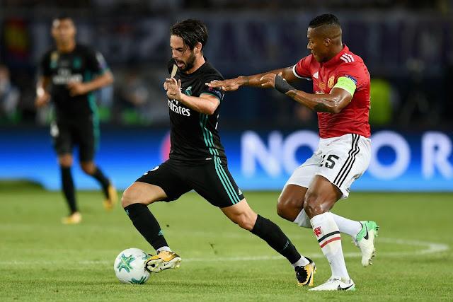 مباراة مانشستر يونايتد وريال مدريد