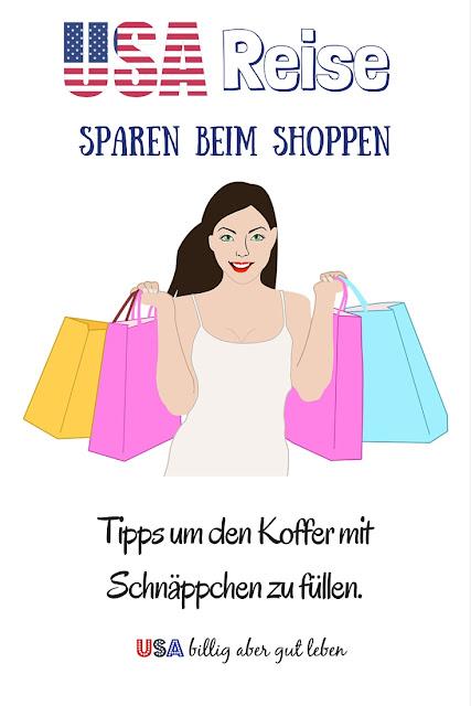 Mache in den USA Schnäppchen und spare beim Einkaufen bei deinem Urlaub in den USA