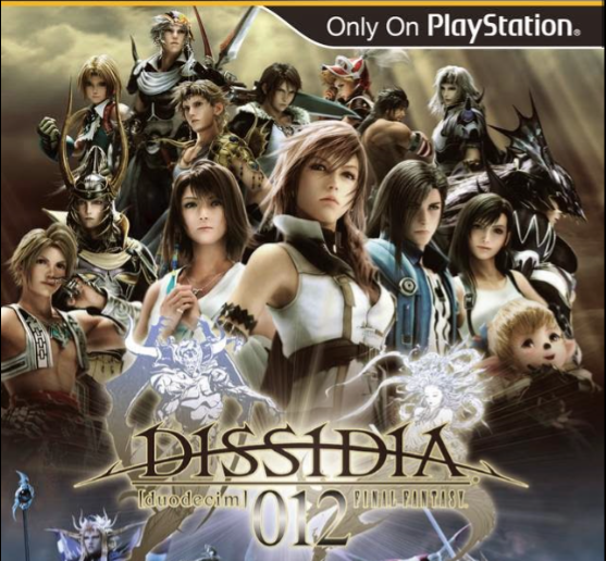 Dissidia 012: Duodecim Final Fantasy PSP Iso USA Test Work