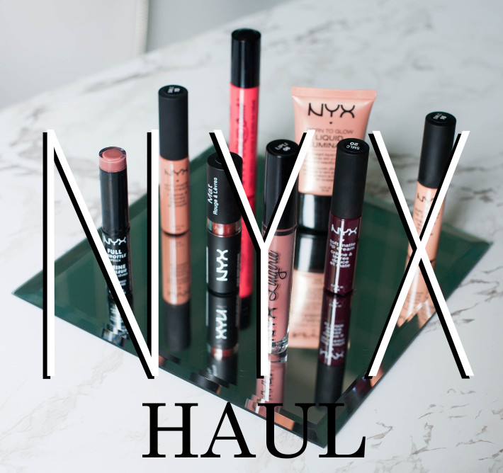 NYX haul review