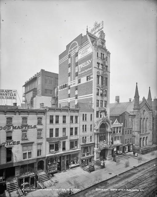 new york history geschichte new amsterdam theatre flashback. Black Bedroom Furniture Sets. Home Design Ideas