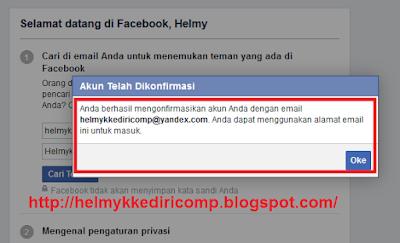 Membuat Akun Facebook Tanpa Verifikasi NoHp
