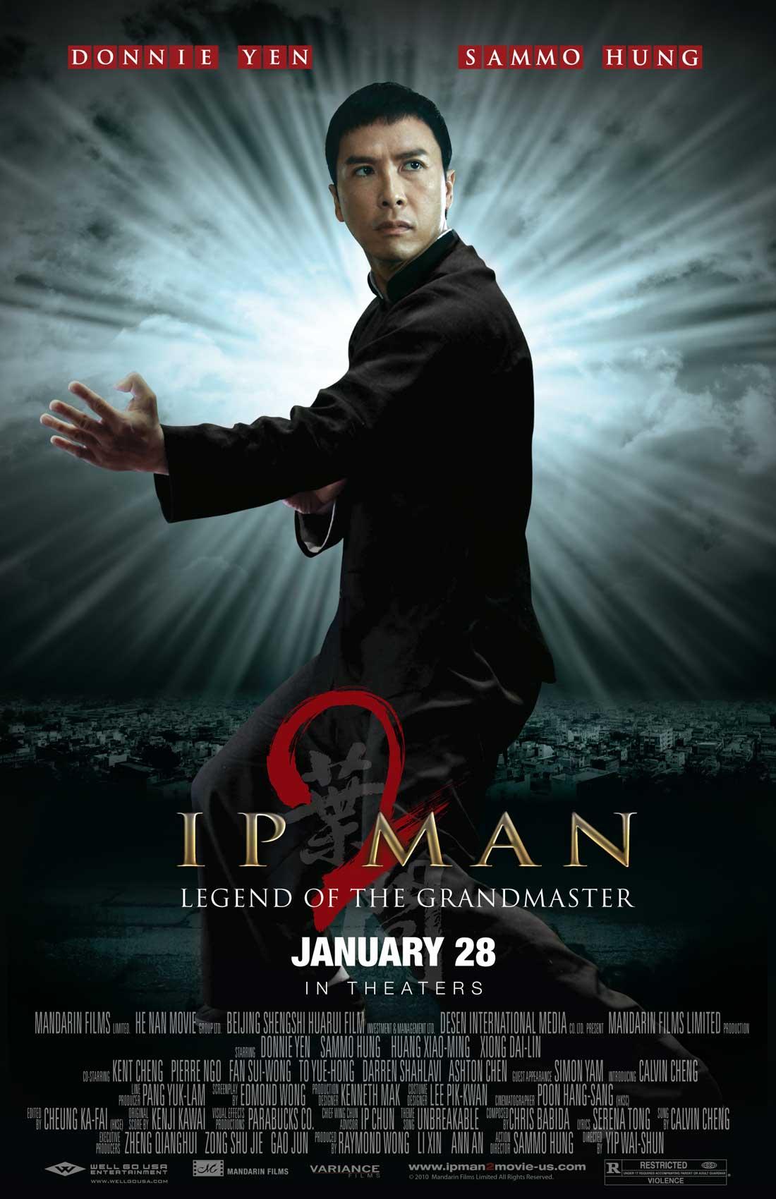 legend of the grandmaster film recenzja donnie yen sammo hung