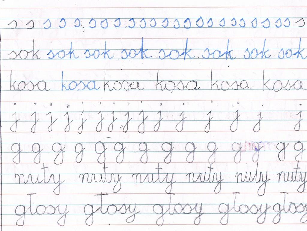 Poznajemy Montessori Handwriting